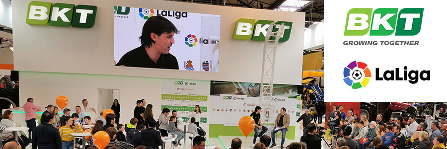BKT and S. José Pneus present at FIMA 2020