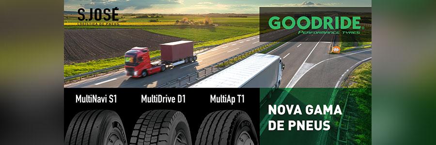 Goodride® – Lança nova gama de pneus pesados – JÁ em STOCK!
